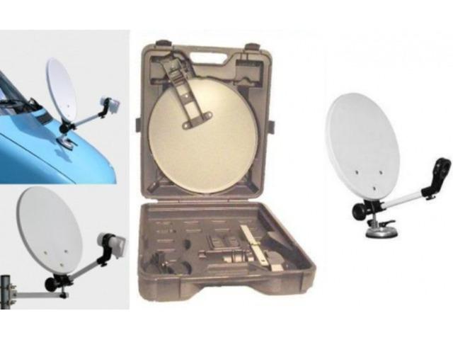 Antena satelit  pentru camion