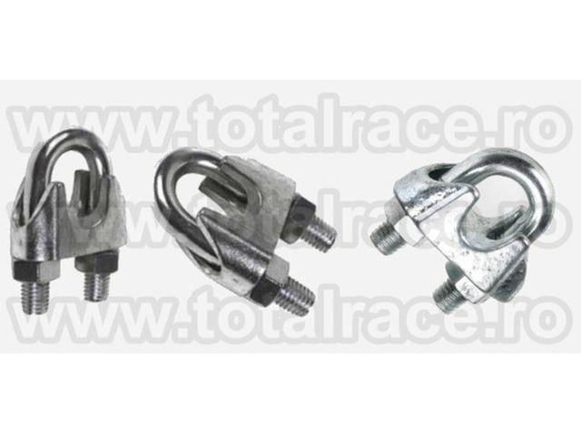 Brida metalica de strangere cablu Total Race