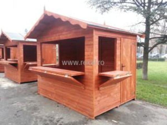 Casute lemn pentru Targuri