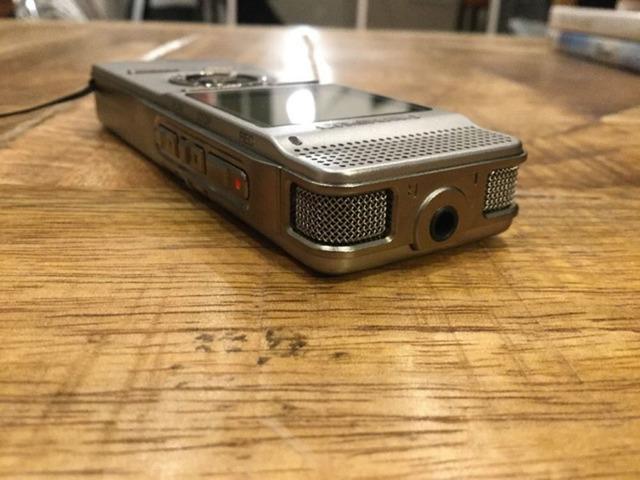 La cutie reportofon proesional stereo OLYMPUS DM-450 cu 12 luni garantie