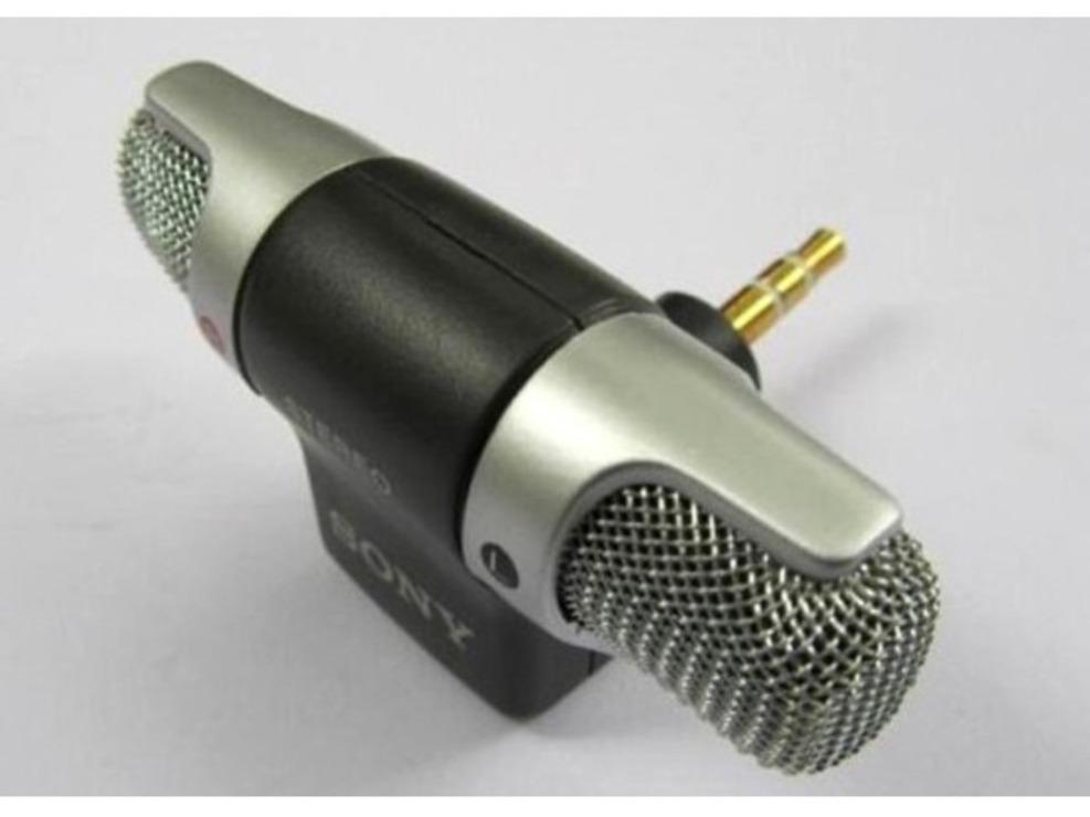 Microfon stereo SONY ECM-DS70P aurit dublu canal