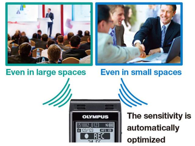 110 ore autonomie Olympus WS-852 la cutie - Imagine 7