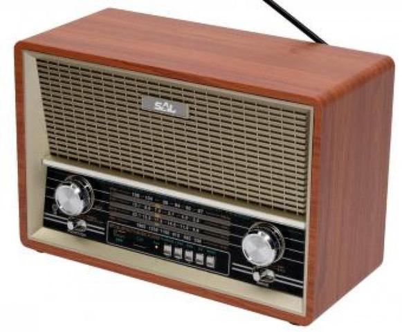 Radio portabil SAL RRT4B,Bluetooth, MP3 , AUX