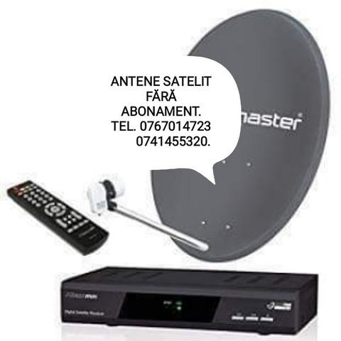 Antene satelit fara abonament.