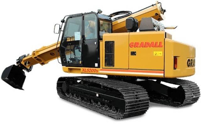 Piese noi de motoare excavatoare Gradall