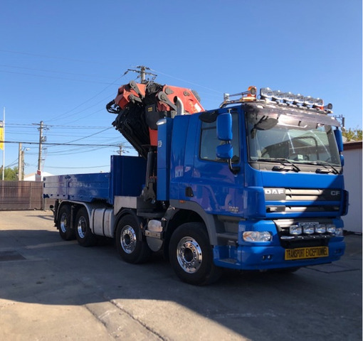 Inchiriez autocamion cu Macara PK 72000, brat 28 m, capacitate 22 tone.